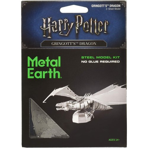 Metal Earth 3D METAL EARTH HARRY POTTER GRINGOTTS DRAGON