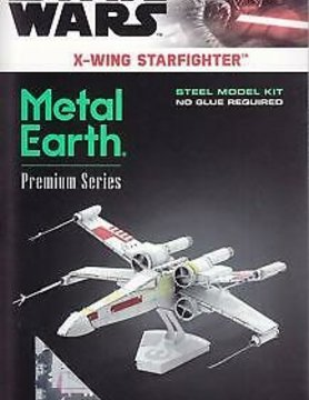 FASCINATIONS TOYS 3D METAL SW X-WING STARFIGHTER LG