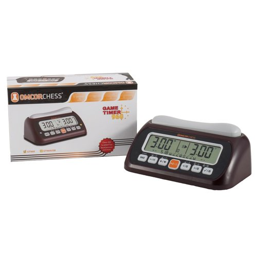 Worldwise Imports CHESS CLOCK OMCOR 960