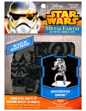FASCINATIONS TOYS 3D METAL SW DESTROYER DROID