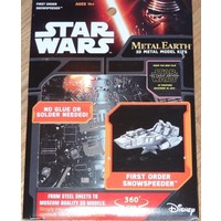 3D METAL EARTH STAR WARS FIRST SNOWSPEEDER
