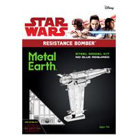 3D METAL EARTH STAR WARS RESISTANCE BOMBER