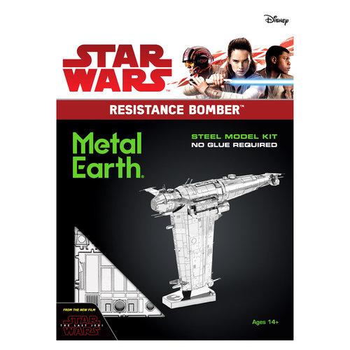 Metal Earth 3D METAL EARTH STAR WARS RESISTANCE BOMBER