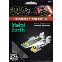 3D METAL EARTH STAR WARS RESISTANCE A-WING