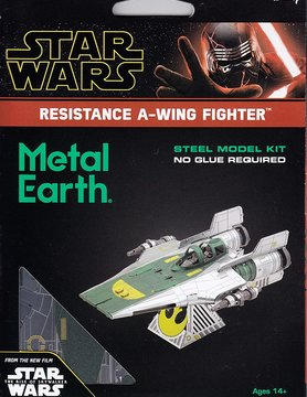 FASCINATIONS TOYS 3D METAL SW RESISTANCE A-WING