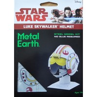 3D METAL EARTH STAR WARS HELMET SKYWALKER