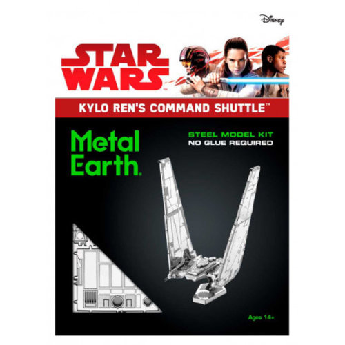 FASCINATIONS TOYS 3D METAL SW KYLO RENS SHUTTLE