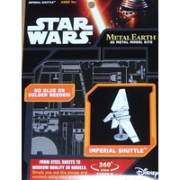 3D METAL EARTH STAR WARS IMPERIAL SHUTTLE