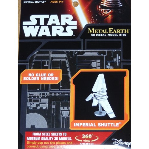 Metal Earth 3D METAL EARTH STAR WARS IMPERIAL SHUTTLE