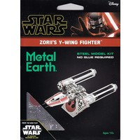 3D METAL EARTH STAR WARS ZORII'S Y-WING
