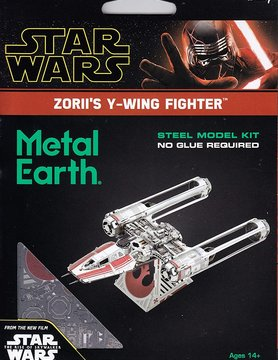 FASCINATIONS TOYS 3D METAL SW ZORII'S Y-WING