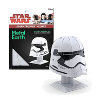 3D METAL EARTH STAR WARS HELMET STORMTROOPER