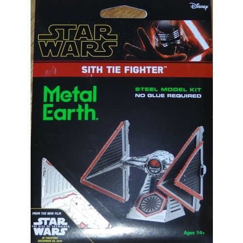 Metal Earth 3D METAL EARTH STAR WARS SITH TIE FIGHTER