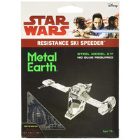3D METAL EARTH STAR WARS RESISTANCE SKI SPD