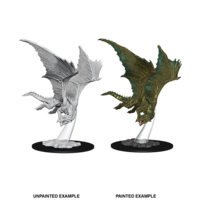 MINIS: D&D: YOUNG BRONZE DRAGON