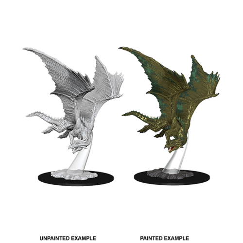 Wizkids MINIS: D&D: YOUNG BRONZE DRAGON