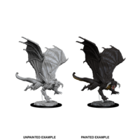 MINIS: D&D: YOUNG BLACK DRAGON