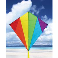 KITE DIAMOND RAINBOW 32""