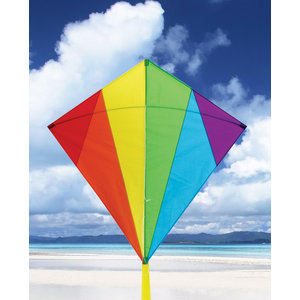 SKYDOG KITES LLC KITE DIAMOND RAINBOW 32""