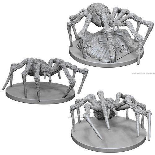 Wizkids MINIS: D&D: SPIDERS