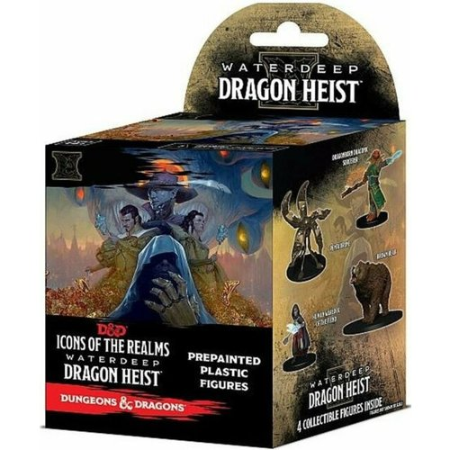 Wizkids MINIS: D&D: ICONS OF THE REALMS - WATERDEEP DRAGON HEIST BOOSTER
