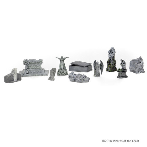 Wizkids MINIS: D&D: ICONS OF THE REALMS - WATERDEEP DRAGON HEIST - CITY OF THE DEAD