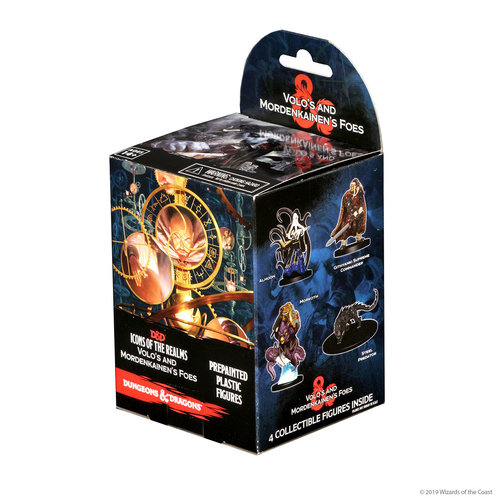 Wizkids MINIS: D&D: ICONS OF THE REALMS - VOLO & MORDENKAINEN'S FOES  BOOSTER