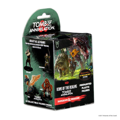 Wizkids MINIS: D&D: ICONS OF THE REALMS - TOMB OF ANNIHILATION BOOSTER