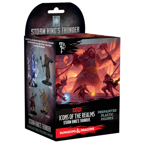 Wizkids MINIS: D&D: ICONS OF THE REALMS - STORM KING'S THUNDER BOOSTER