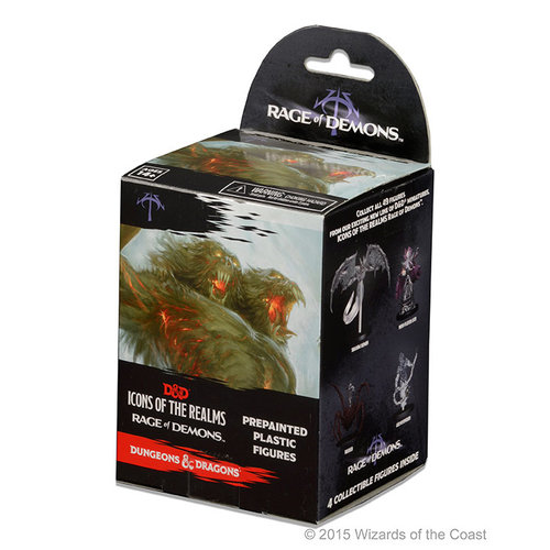 Wizkids MINIS: D&D: ICONS OF THE REALMS - RAGE OF DEMONS BOOSTER