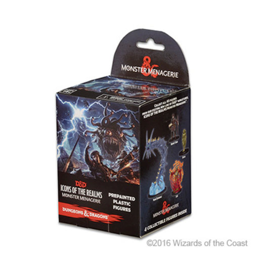 Wizkids MINIS: D&D: ICONS OF THE REALMS - MONSTER MENAGERIE BOOSTER