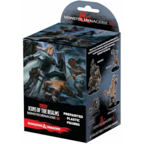 Wizkids MINIS: D&D: ICONS OF THE REALMS - MONSTER MENAGERIE 3 BOOSTER