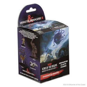 Wizkids MINIS: D&D: ICONS OF THE REALMS - MONSTER MENAGERIE 2 BOOSTER