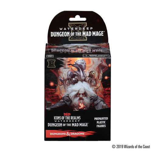 Wizkids MINIS: D&D: ICONS OF THE REALMS - DUNGEON OF THE MAD MAGE BOOSTER
