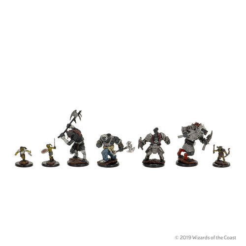 Wizkids MINIS: D&D: ICONS OF THE REALMS - VILLAGE RAIDERS PACK