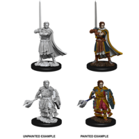 MINIS: D&D: HUMAN MALE CLERIC
