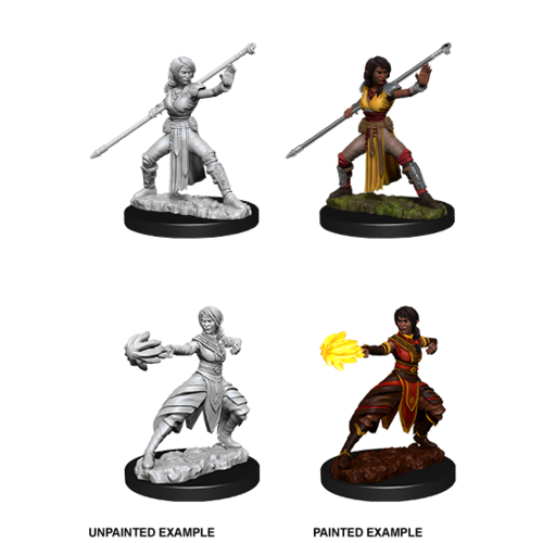 Wizkids MINIS: D&D: HALF-ELF FEMALE MONK