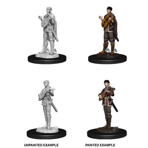 Wizkids MINIS: D&D: HALF-ELF FEMALE BARD