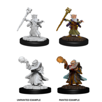 MINIS: D&D: GNOME MALE WIZARD