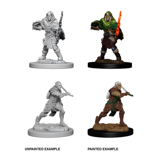 Wizkids MINIS: D&D: ELF MALE FIGHTER