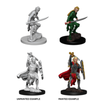 MINIS: D&D: ELF FEMALE FIGHTER