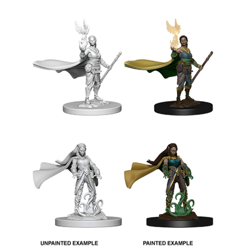 Wizkids MINIS: D&D: ELF FEMALE DRUID