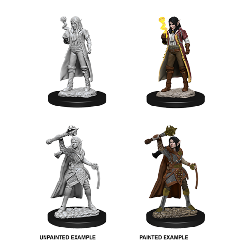 Wizkids MINIS: D&D: ELF FEMALE CLERIC
