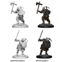 MINIS: D&D: EARTH GENASI MALE FIGHTER