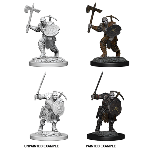 Wizkids MINIS: D&D: EARTH GENASI MALE FIGHTER