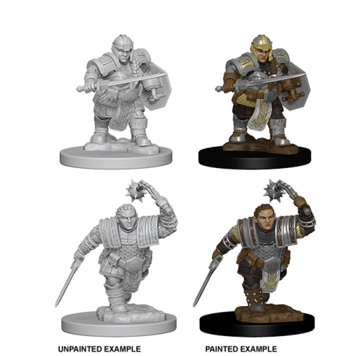 Wizkids MINIS: D&D: DWARF FEMALE FIGHTER
