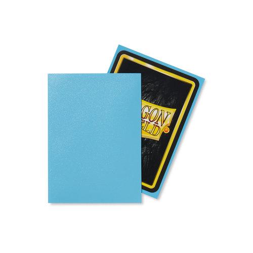 Arcane Tinmen DECK PROTECTOR: DRAGON SHIELDS: MATTE BABY BLUE (100)