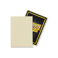 DECK PROTECTOR: DRAGON SHIELD: MATTE IVORY (100)