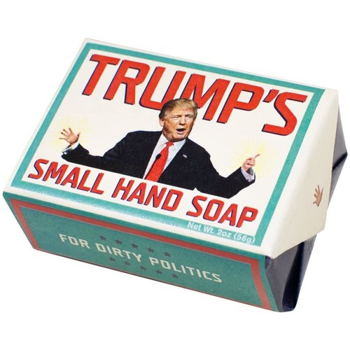 UNEMPLOYED PHILOSOPHERS TRUMP'S SMALL HAND SOAP