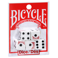 BICYCLE DICE (Set of 5)